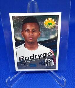 2017 PROMESSAS RODRYGO GOES ROOKIE STICKER REAL MADRID Brazil Brasil RC RARE!