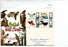 GB - FIRST DAY COVER - FDC -1664- SPECIALS -1966 - BIRDS - pmk Farnborough Hants