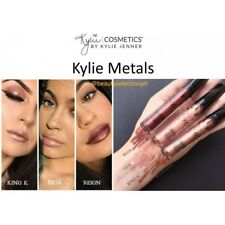 KYLIE COSMETICS Lipstick MATTE METAL SET OF ALL 3: King K, Heir, Reign-AUTHENTIC