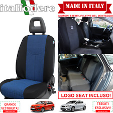 SET COPRISEDILI Adattabili SEAT IBIZA/LEON/ALTEA Fodera Fodere Foderine Azzurro