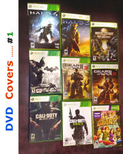 A Few DVD Cases (Microsoft Xbox 360 & Other) No Games - Very Good Condition