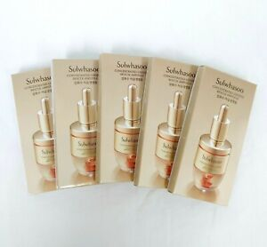 Sulwhasoo Concentrated Ginseng Rescue Ampoule 3.5g * 5ea # Total Solution