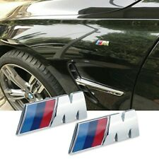 BMW M Performance Badge M-SPORT for BMW Chrome Fender + Boot x3 x5 m3