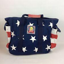 Looney Tunes America Tote Bag Vtg Tweety Sylvester Warner Bros Red White Blue