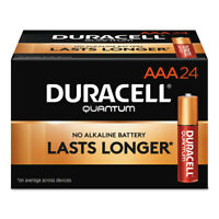 Duracell Quantum Alkaline Batteries with Duralock Power Preserve Technology AAA
