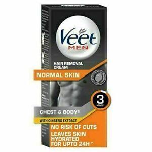 Veet For Men Chest & Body Easy Hair Removal Cream 100g For Normal Skin