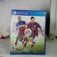 PlayStation 4, PS4, FIFA 15; EA Sports, Rated E For Everyone Pre-Owned Sony