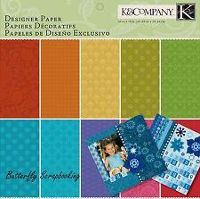 Essentials Designer Scrapbooking 12X12 Paper Pad BIG 150 Sheets K&Company NEW