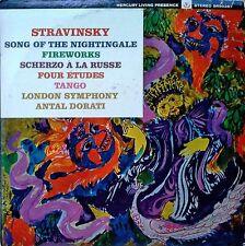 STRAVINSKY / SONG OF..NIGHTINGALE - DORATI - MERCURY 90387- LIV. PRES. STEREO LP