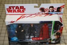 3 PACK Force Link ROTJ Emperor Palpatine Luke Jedi Royal Guard TARGET Exclusive