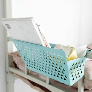 Iron Bedside Hanging Basket Magazine Sundries Storage Office Desk Home Organizer