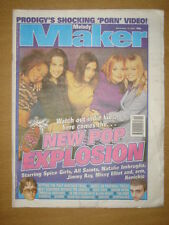 MELODY MAKER 1997 NOV 15 SPICE GIRLS PRODIGY PULP OASIS