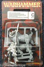 1997 Elfo Oscuro Rider 2 caballería Corcel Ciudadela De Los Elfos ejército Drow Warhammer montado Gw