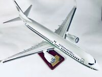 NIGERIAN EAGLE 1 AIRFORCE PRESIDENTIAL JET 737 LARGE PLANE MODEL WITH PLAQUE