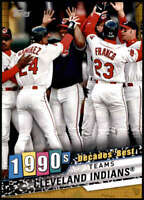 Cleveland Indians 2020 Topps Decade's Best Series 2 5x7 Gold #DB-73 /10