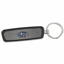 Official Subaru Metal Grille Key Tag Keyring Key Chain Genuine Wrx Sti impreza +