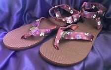 BRAND NEW Teva Original Sandal Floral Satin Sandals Women's Size 10
