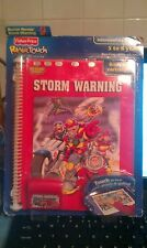 Fisher Price Power Touch Rescue Heroes Storm Warning New in pkg 2003