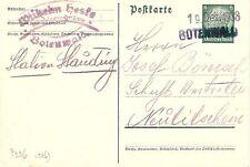 Echte Briefmarken aus dem deutschen Reich (1933-1945) als Ganzsache