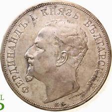 AB1941) Bulgarien, Fürstentum Ferdinand, 1887 - 1918. 5 Leva 1892 ERHALTUNG