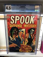 Spook #23 (Star Publications 1953) CGC 4.5 - LB Cole Cover - Pre-Code Horror