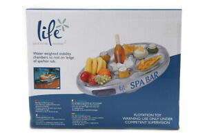 Inflatable Floating Spa Bar Hot Tub Spas Drinks & Food Holder Side Tray Anchors