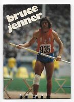 1979 Creative Education Sports Superstars Bruce Jenner Booklet