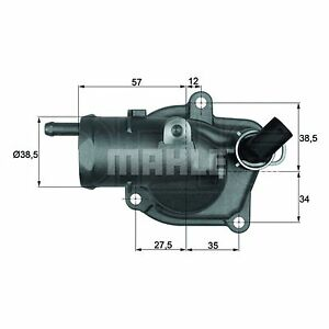 Integral Thermostat - MAHLE TI 31 87 - Quality MAHLE - Genuine UK Stock