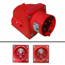 Cee Wandgerätestecker with Phase Inverter 16A 5p.6h 380/400V, Pce 7715-6