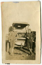 WW1 Original Photo: U.S.Soldiers & BERLIET French Military Vehicle [France]