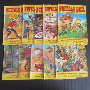 10 Buffalo Bill Nr. 224 bis 587 in mittlerem bis schlechtem Zustand