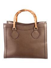 Gucci Vintage Bamboo Tote Handbag
