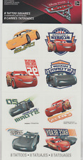 8 Disney Cars 3 Tattoos (1 Sheet, 8 Perforations)