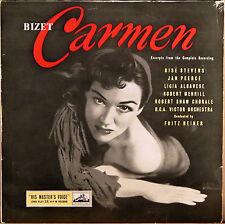 EMI HMV UK Bizet CARMEN Reiner STEVENS PEERCE MERRILL Robert Shaw ALP-1416