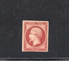 1853 FRANCE SC# 21, 1 FRANC NAPOLEON MINT, CV $9450.00, LOOK