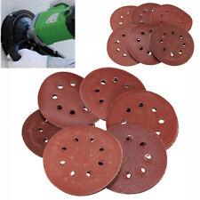 30pcs 80 240 400 800 1000 2000# Grit 8 Holes Hook Loop Sand Paper Sanding Discs