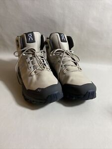 On Running Men's CloudRock Hiking Boots *New* Size 8.5 Color Sand & Black