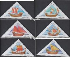 Afghanistan 1740-1745 unmounted mint / never hinged 1997 Old Sailboats
