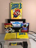 Nintendo Entertainment System Nes Super Mario Bros 3 complete in box