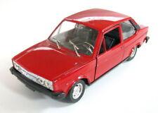 VINTAGE ITALIAN METAL CAR TOY FIAT 131 MIRAFIORI 1975 ITALY MADE POLISTIL SEE >>