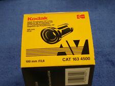 "Kodak Slide Projector Lens 100mm (4"") F2.8 163-4500 - New (Old Stock)"