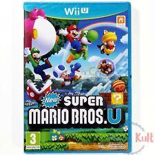 Jeu New Super Mario Bros U [VF] sur Nintendo Wii U NEUF sous Blister