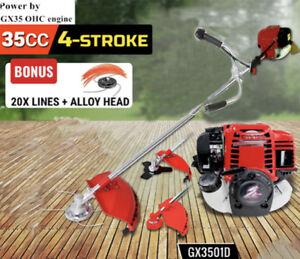 Multi 3 in 1 Grass cutter 4 stroke Gx35 Engine Brush cutter gas strimmer pruner