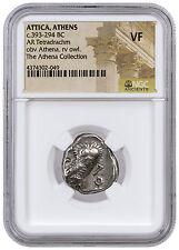 Greek City-State Athens Silver Tetradrachm Athena Collection NGC VF SKU42587