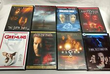 Halloween Movies 8 Dvd lot The Sixth Sense Gremlins Premonition End of Days # 1