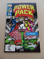 Power Pack 60 . SIGNED . Marvel 1990 . VF - minus