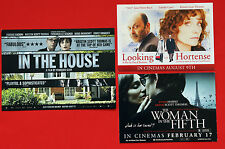 KRISTIN SCOTT THOMAS FILM FLYER & POSTCARDS IN THE HOUSE WOMAN IN FIFTH HORTENSE
