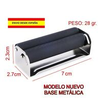 MAQUINA DE LIAR CIGARRILLOS ROLLING METAL 70mm RASTA TABACO FUMAR ENROLAR PAPEL