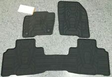 OEM 2015-2017 Ford EDGE ALL WEATHER Floor Mats BLK, 3-PC (HT4Z-5813300-AA)