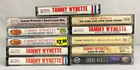 Lot of 11 TAMMY WYNETTE Cassette Tapes ~ SOME RARE